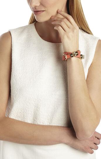 Icon-Studded Wrap Bracelet