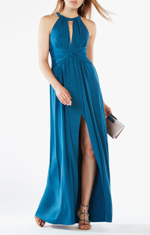 Christiana Cutout Jersey Gown