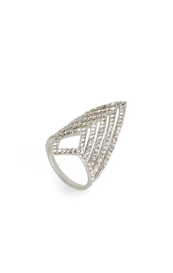 Pave Chevron Ring