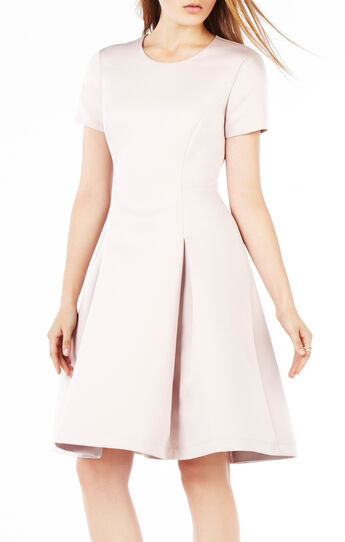 Shayla Pleated Midi Dress