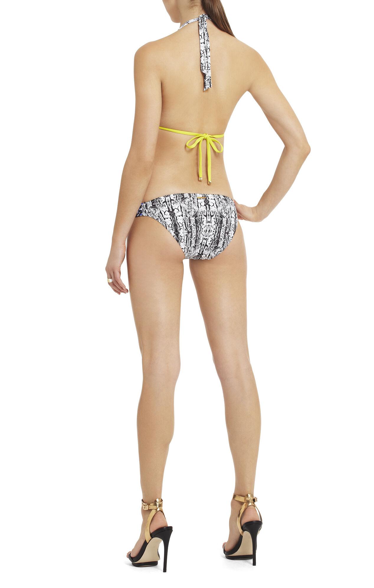 Urban Contrast Halter Bikini Top