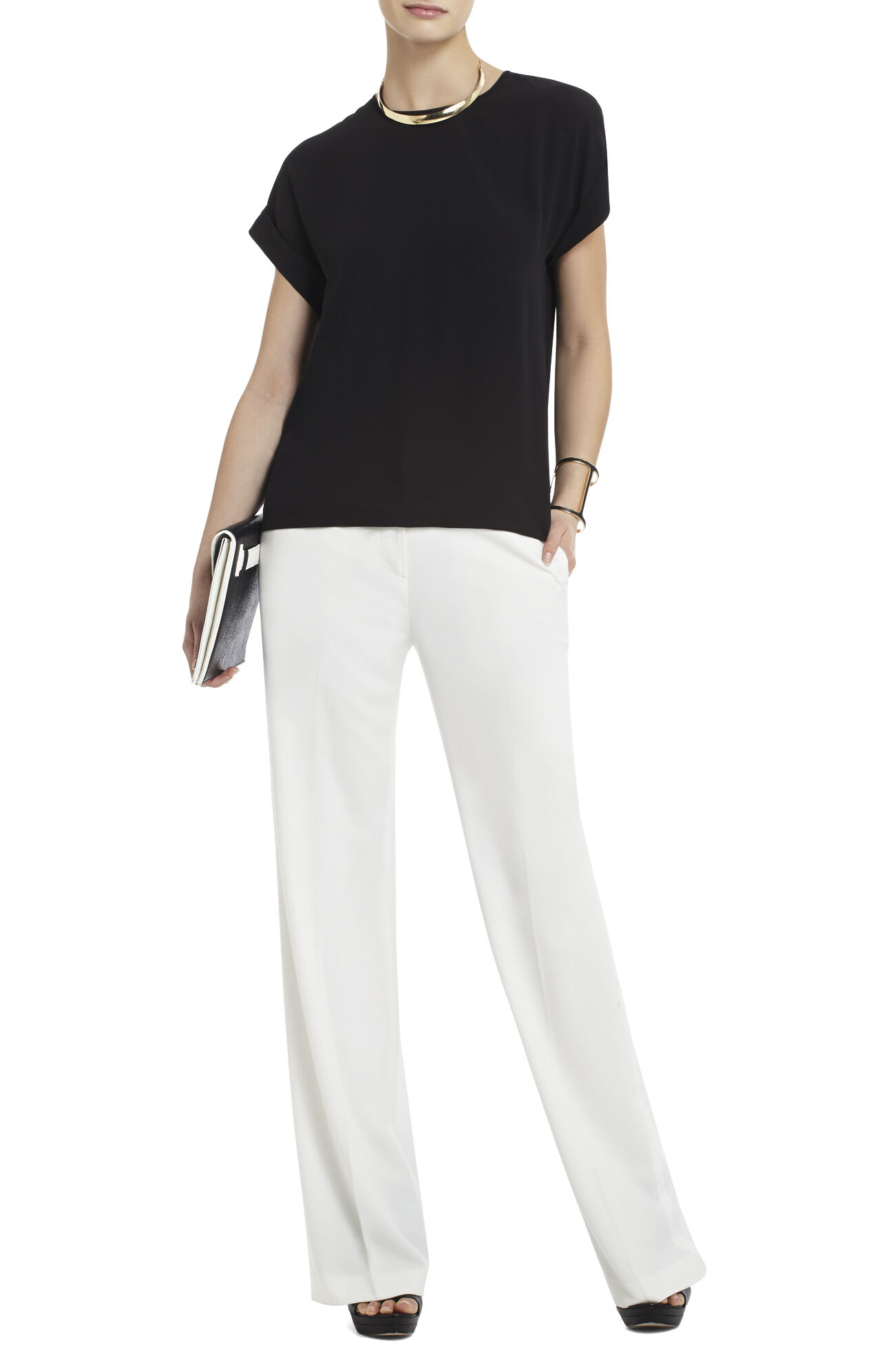 Fifi Relaxed-Fit Wide-Sleeve Top