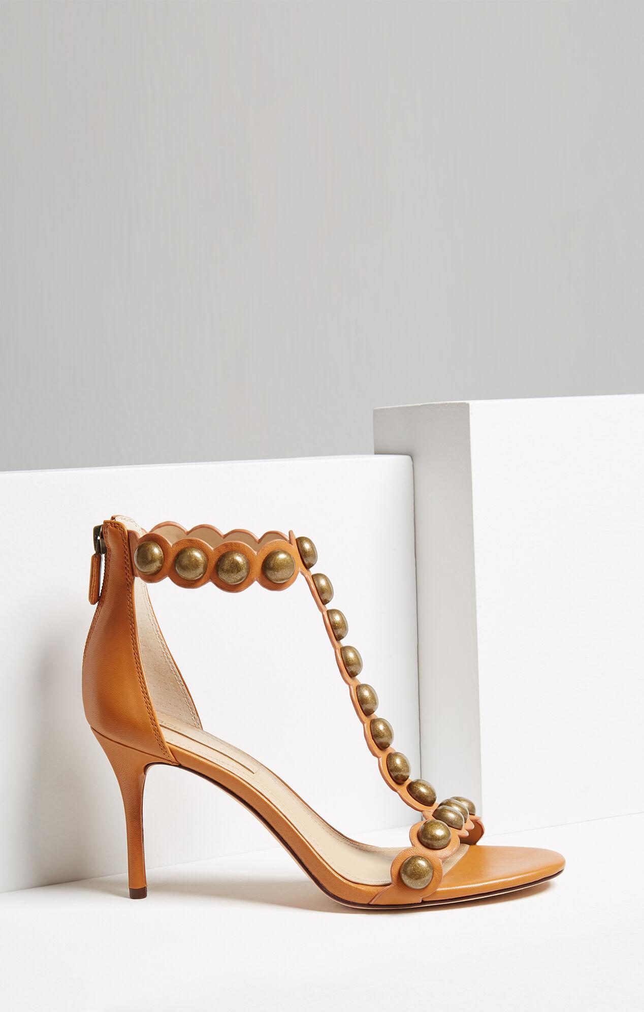 Ankah Studded Leather Sandal