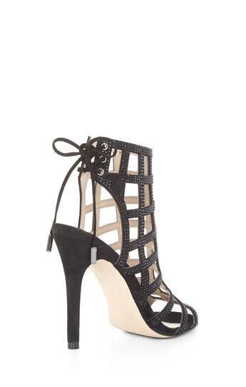Lien High-Heel Caged Sandal