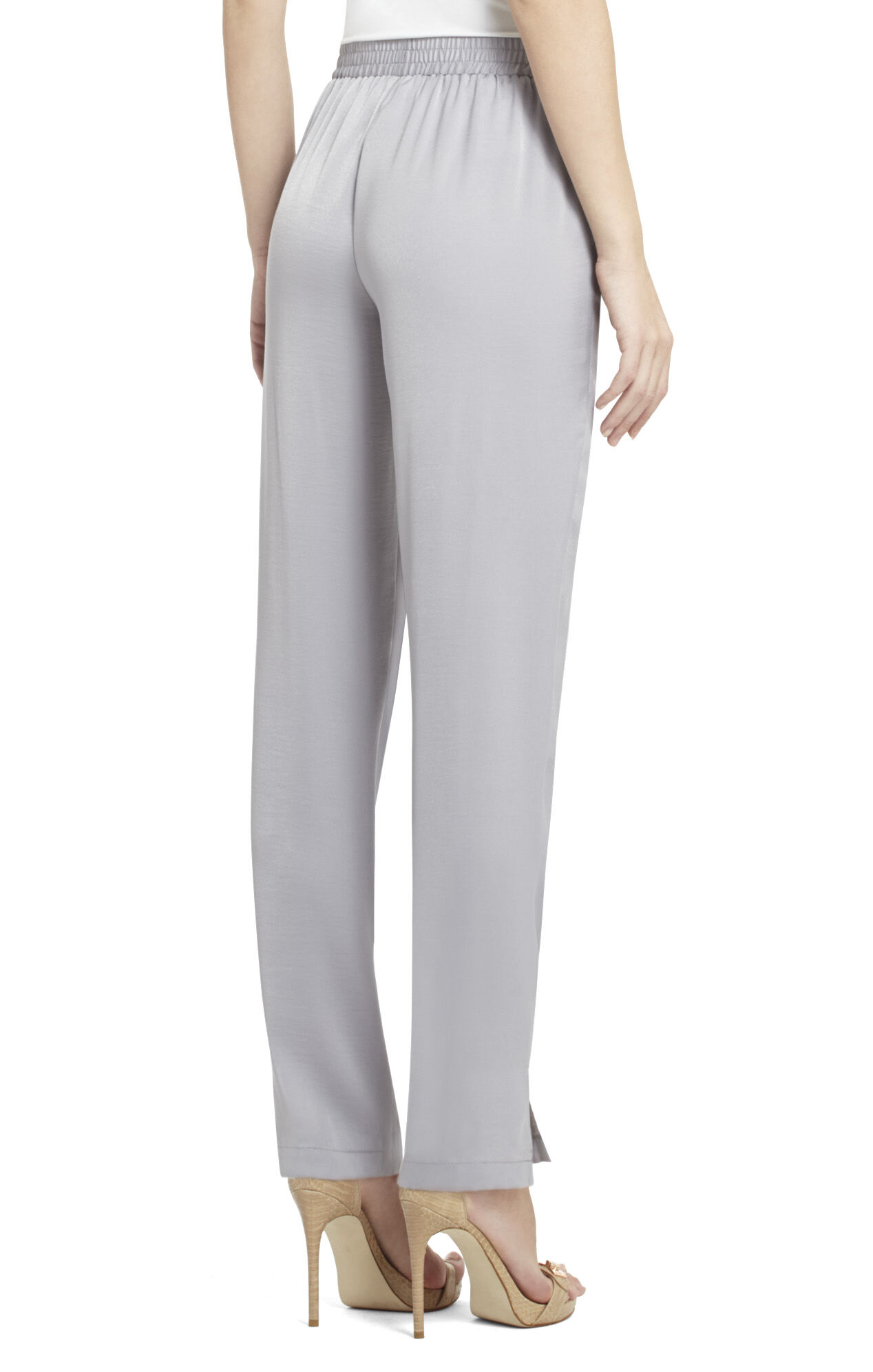 Clay Ruched-Waist Relaxed Pant