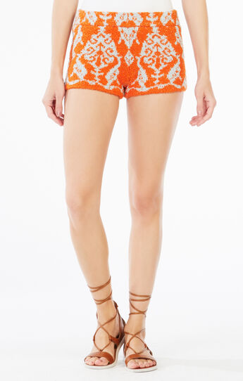Tyrese Filigree Floral Print Short
