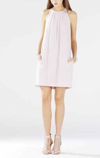 Lynzie Sleeveless Pleated Shift