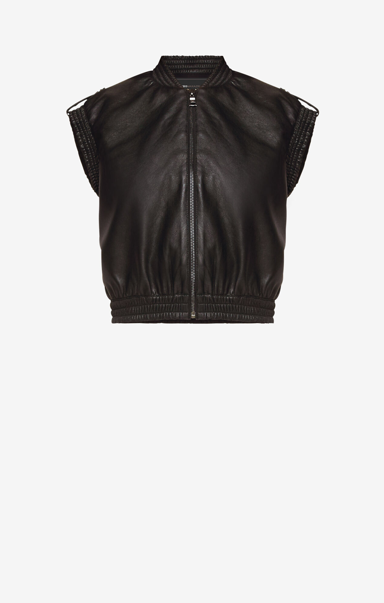 Ace Faux-Leather Vest
