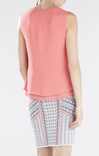 Amerly Sleeveless V-Neck Top
