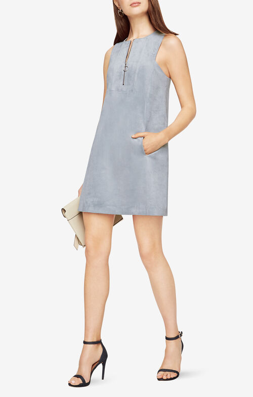 Jamy Faux-Suede Dress