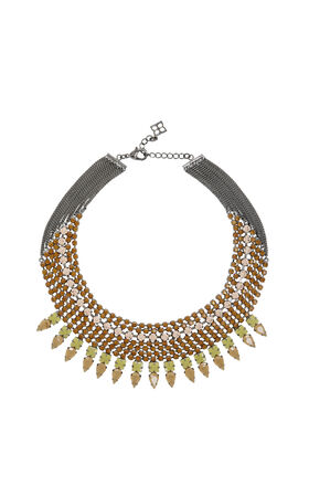 Jeweled Spike Necklace