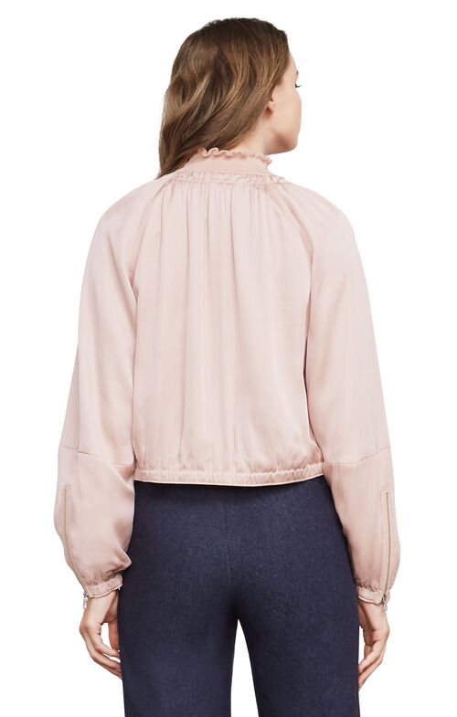Cruz Sateen Blouson Jacket