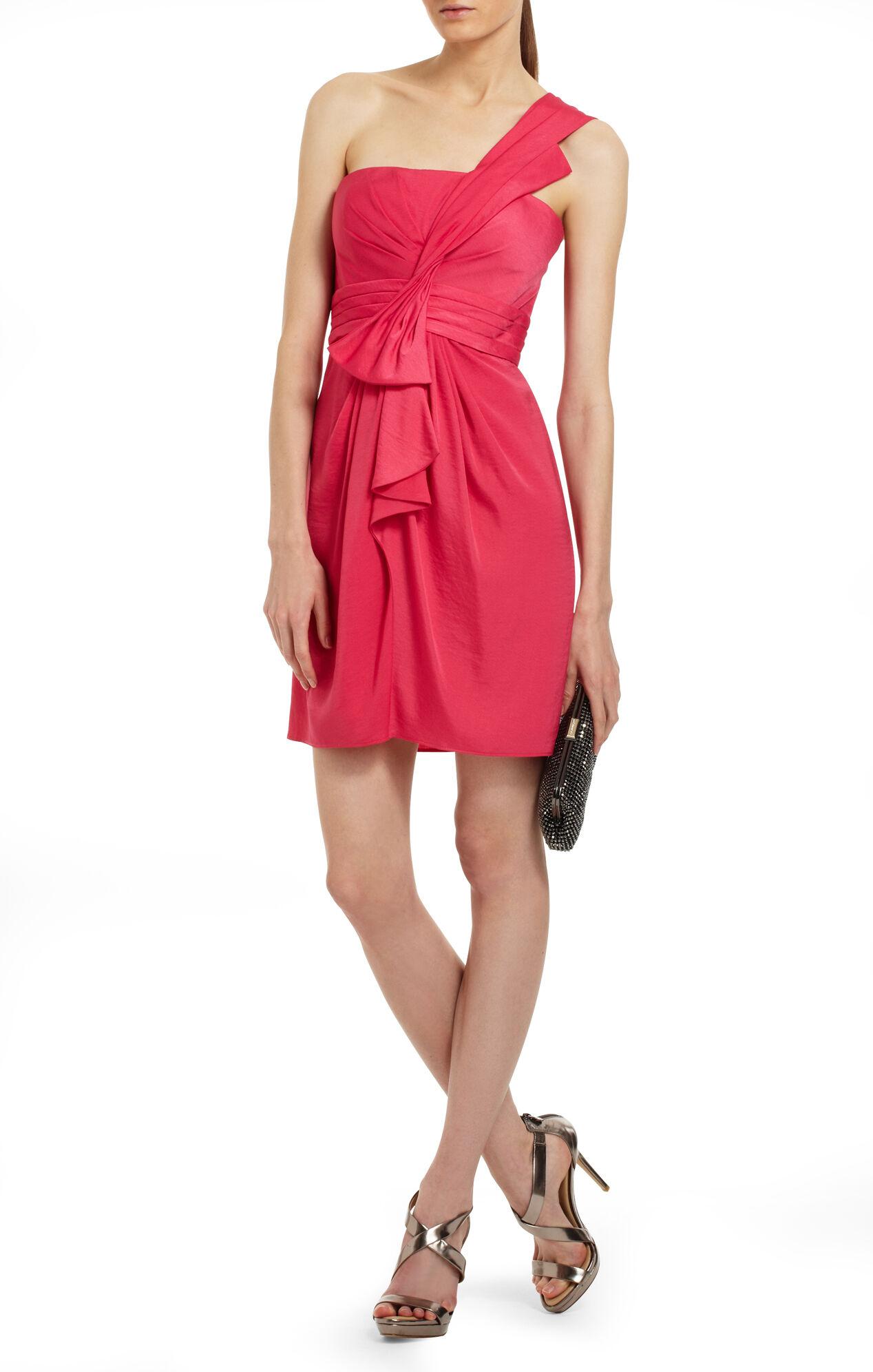 Palais One-Shoulder Cocktail Dress