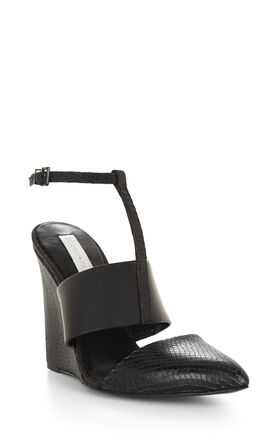 Lister Textured Wedge Sandal
