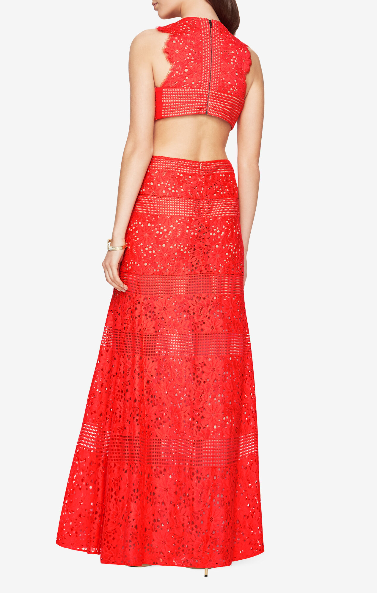 Merida Floral Lace Gown