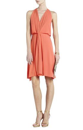 Marisa Knee-Length Halter Dress