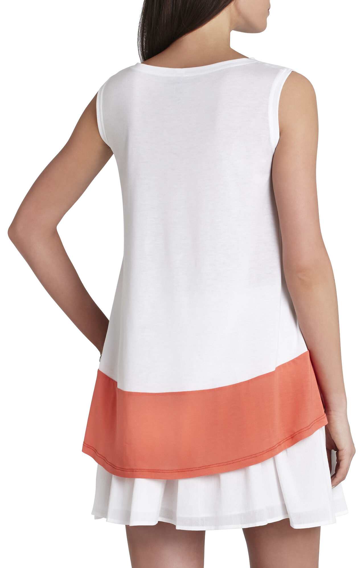 Allison Sleeveless Color-Blocked Top
