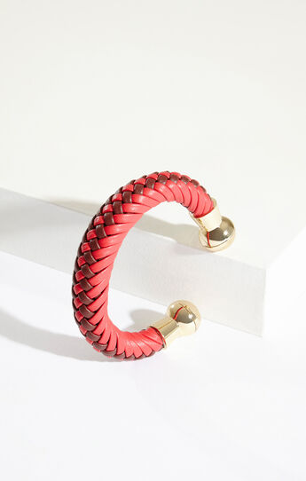 Tribal Braided Cuff Bracelet