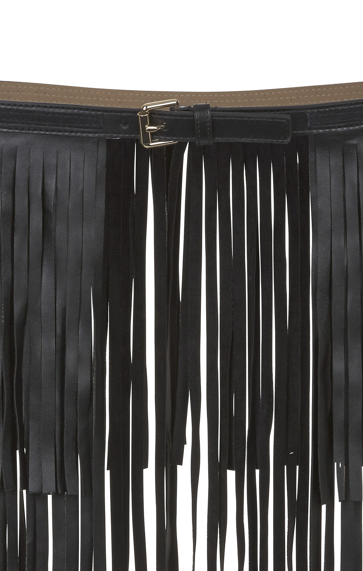 Long-Fringe Waist Belt