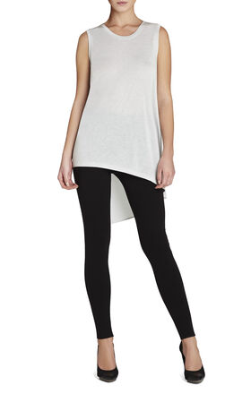 Claudia Sleeveless Asymmetrical T-Shirt
