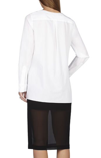 Lillyan Lace-Front Shirt
