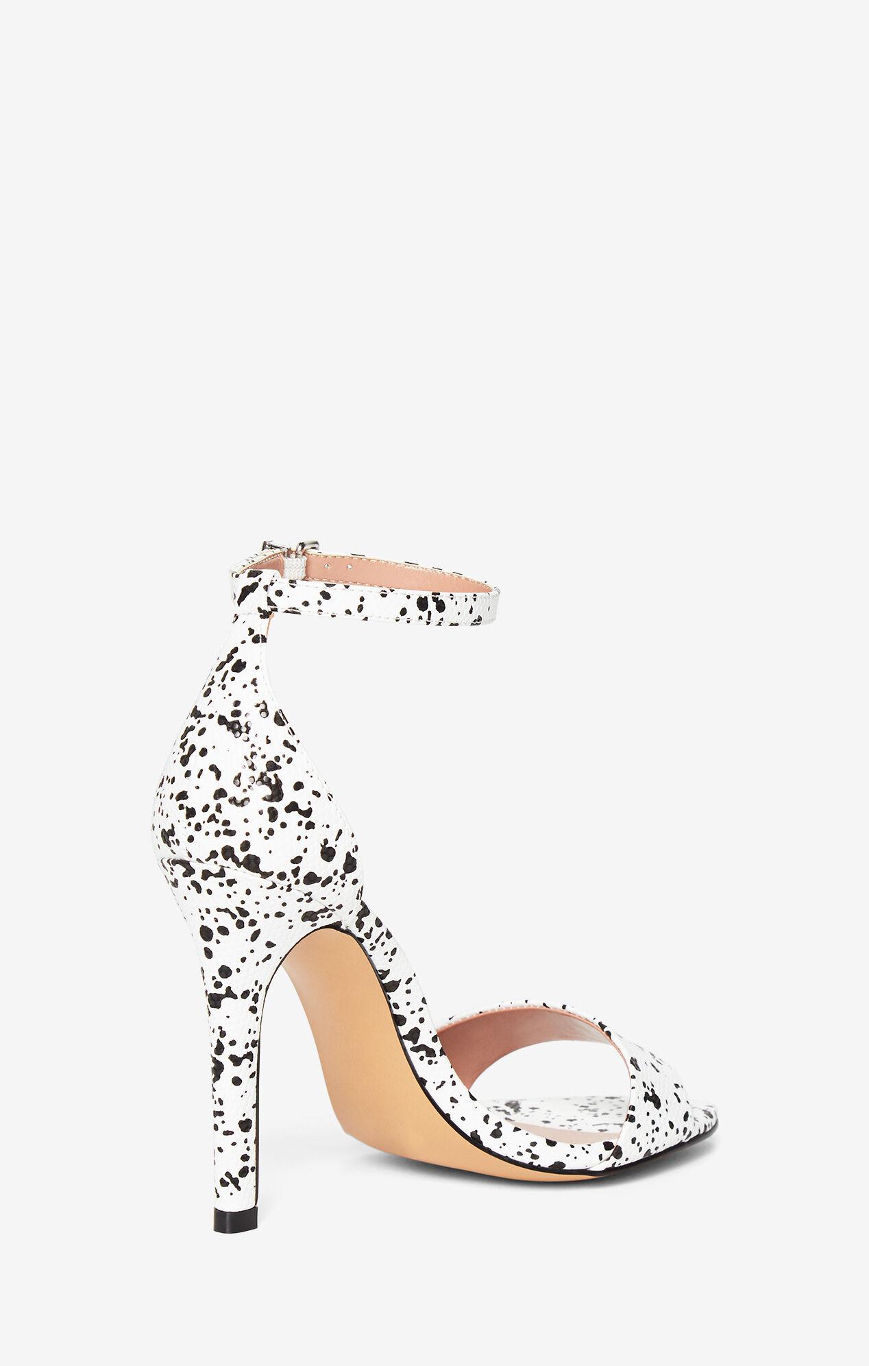 Ellettra Faux-Snake Sandal