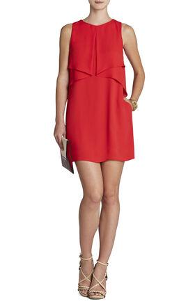 Amelie Sleeveless Draped Dress