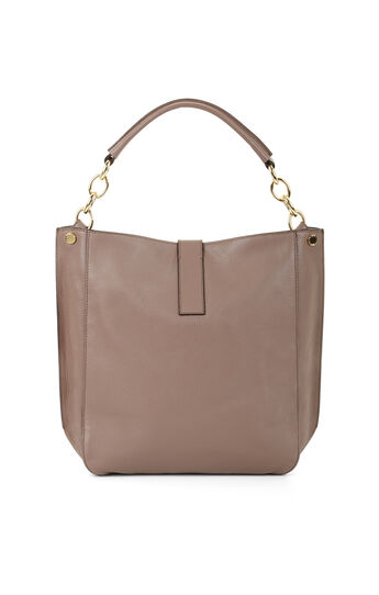 Jordie Large Leather Hobo Bag