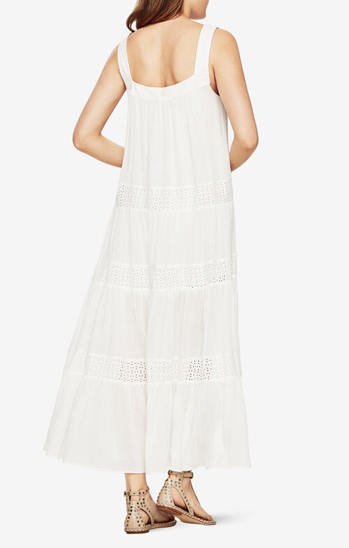 Victoryia Eyelet Maxi Dress