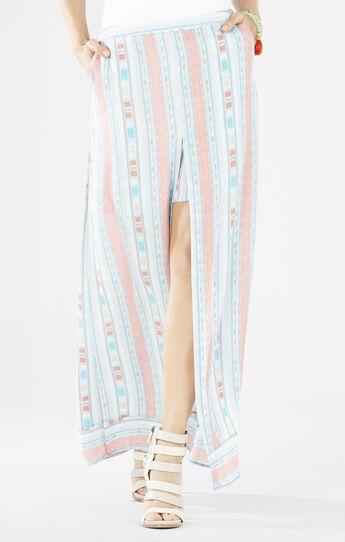 Jane Ikat Ombre Maxi Skirt
