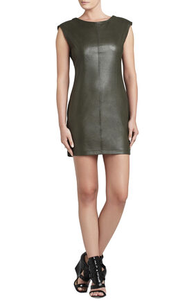 Karlee Zippered Shoulders Dress