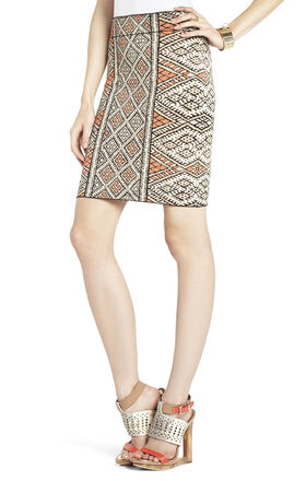 Carmel Patchwork Skirt