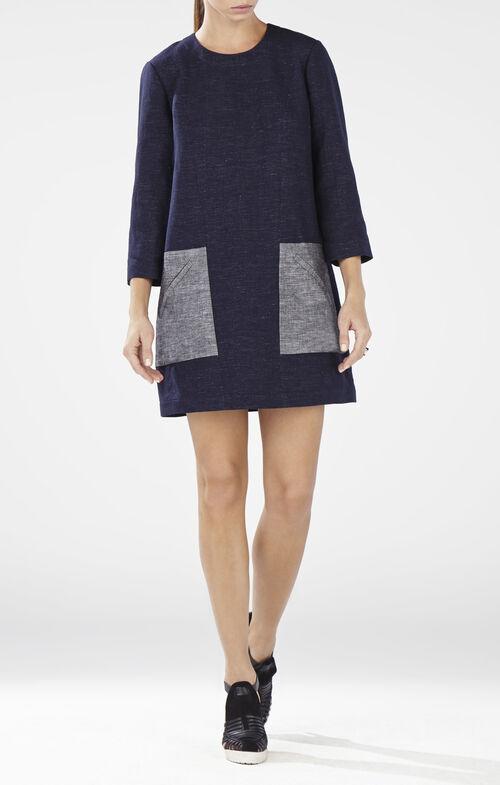 Lexia Contrast Pocket Tunic Dress
