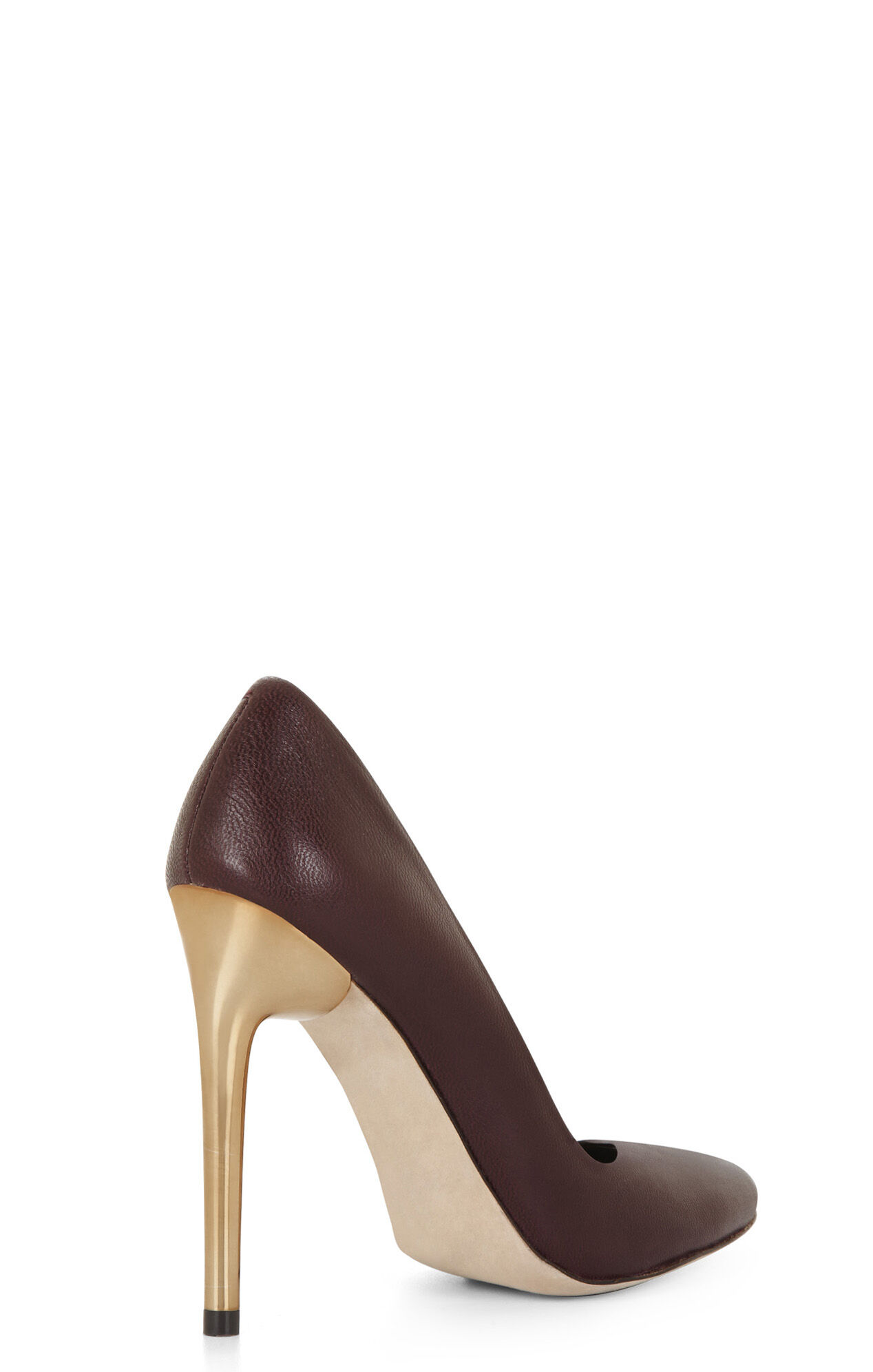 Tanta Metallic-Heel Pump