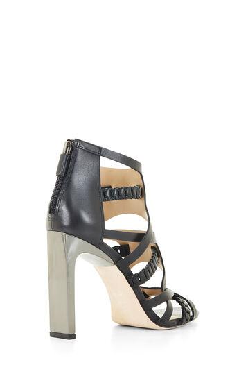 Dorie High-Heel Woven Strap Sandal