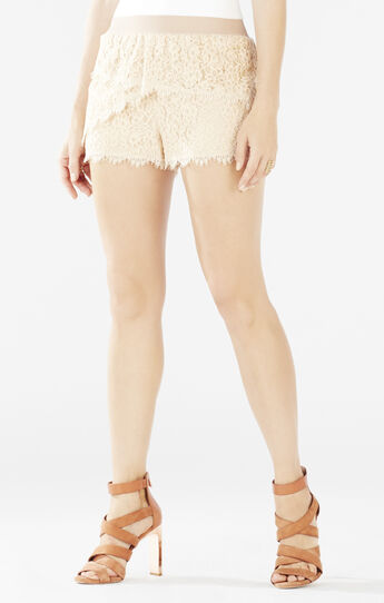 Kieran Lace Tiered Shorts