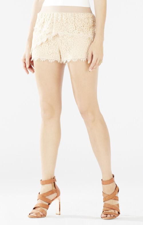 Kieran Lace Tiered Shorts