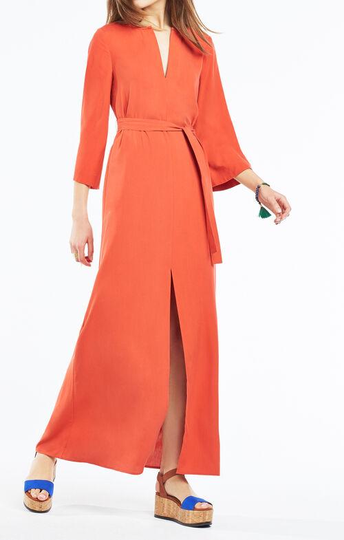 Marlise Belted Maxi Dress
