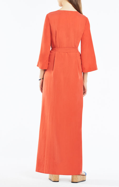Marlise Belted Maxi Dress