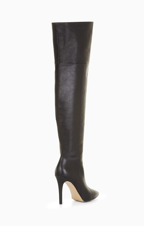Abella Leather Over-The-Knee Boot