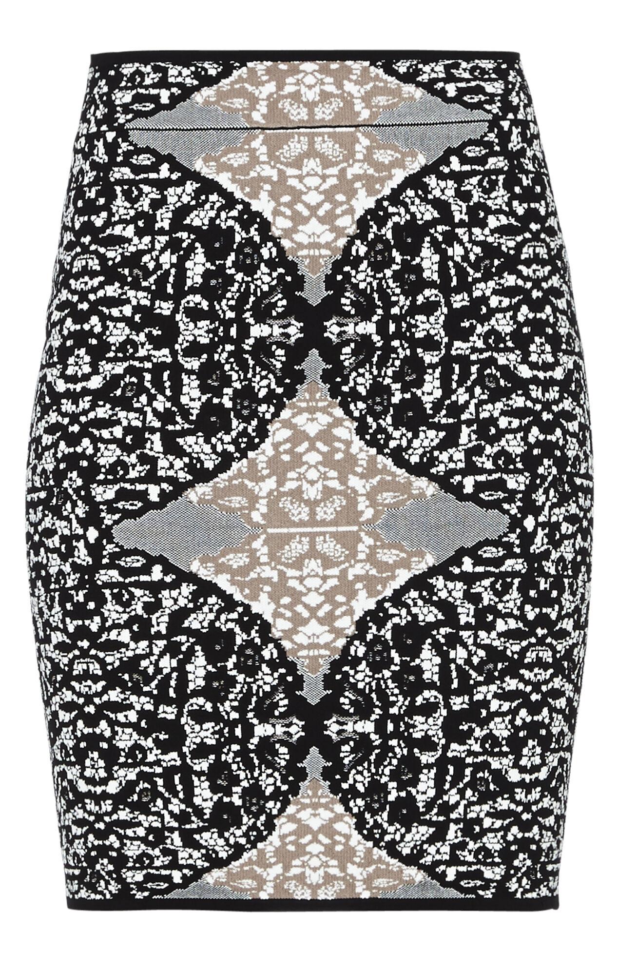Mollee Battenburg Lace Jacquard Skirt