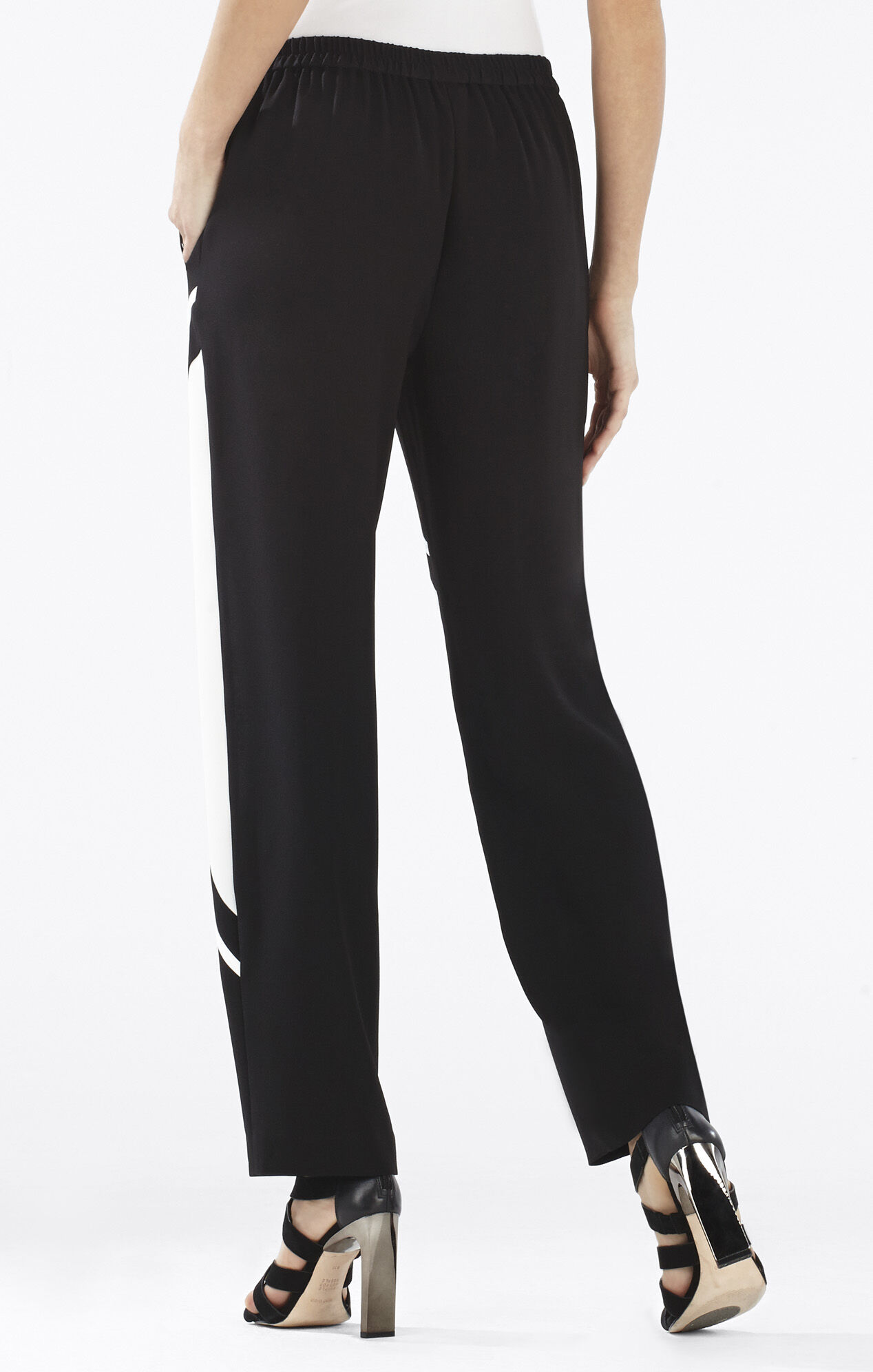 Repeat Slash-Pockets Trouser