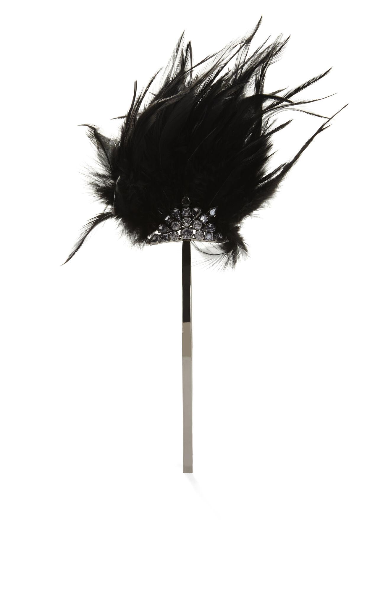 Feather Mohawk Headband
