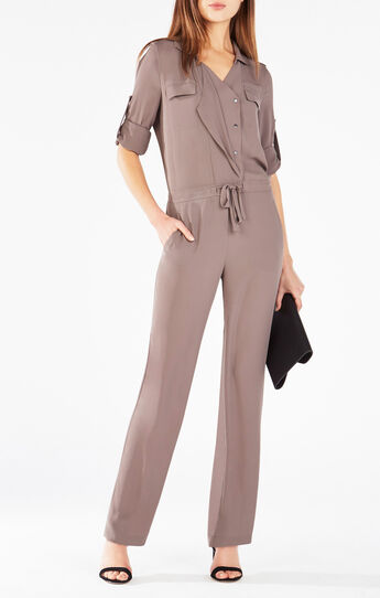 Marcy Button-Down Jumpsuit