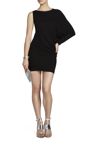 Laheld One-Sleeve Tunic Dress