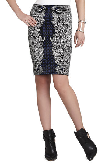 Irene Tribal Jacquard Skirt