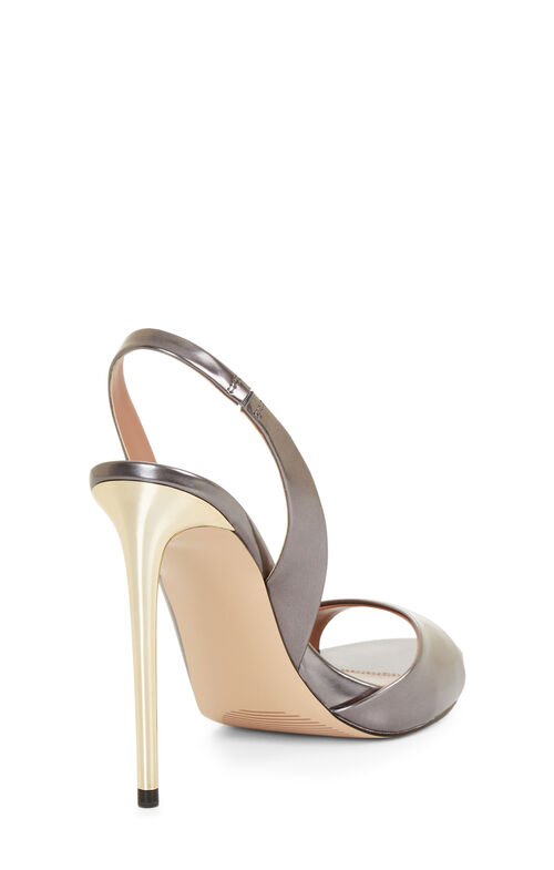 Prue Metallic Leather Pumps