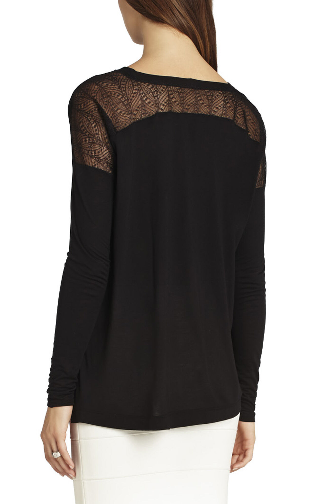 Ava Lace-Yoke Top
