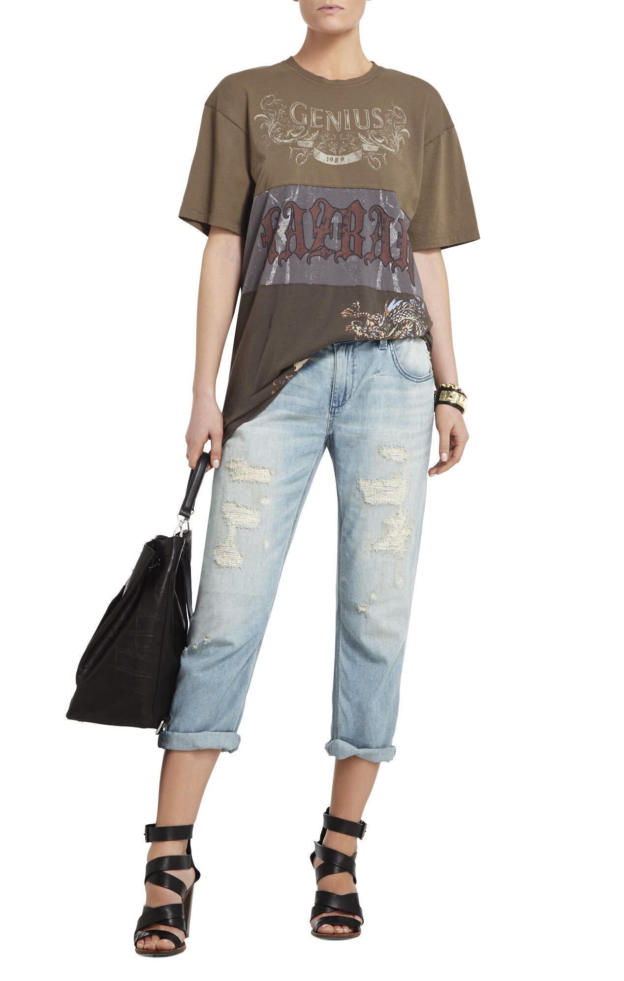 Darrin Oversized Graphic T-Shirt