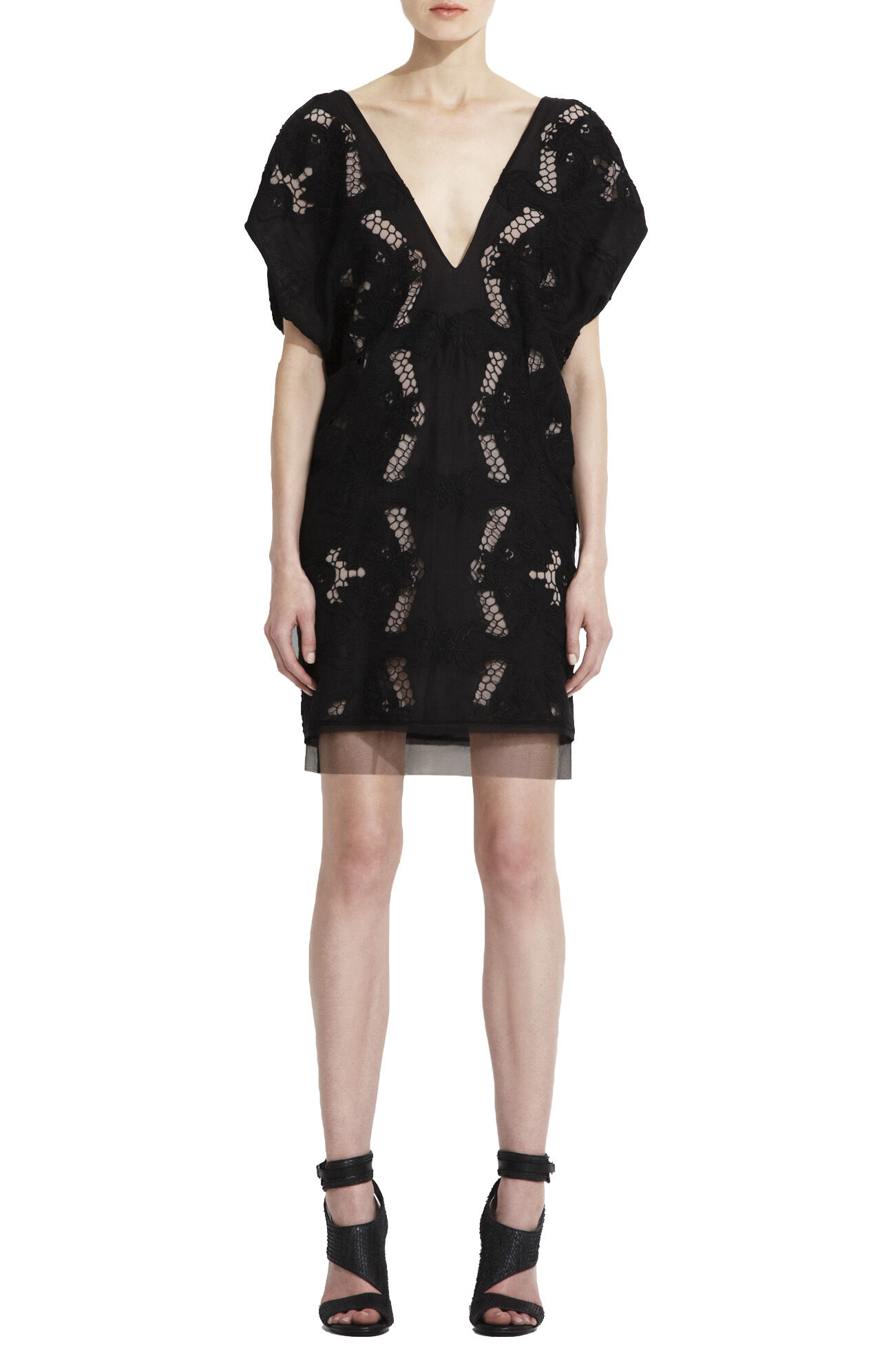 Runway Freja Embroidered Dress